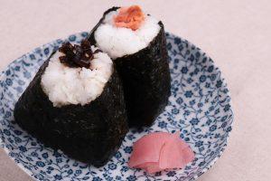 甘くて大粒。会津のコシヒカリのおにぎり