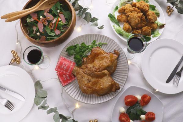顔が見えるキッチン。の惣菜で盛るだけ楽ちんクリスマス